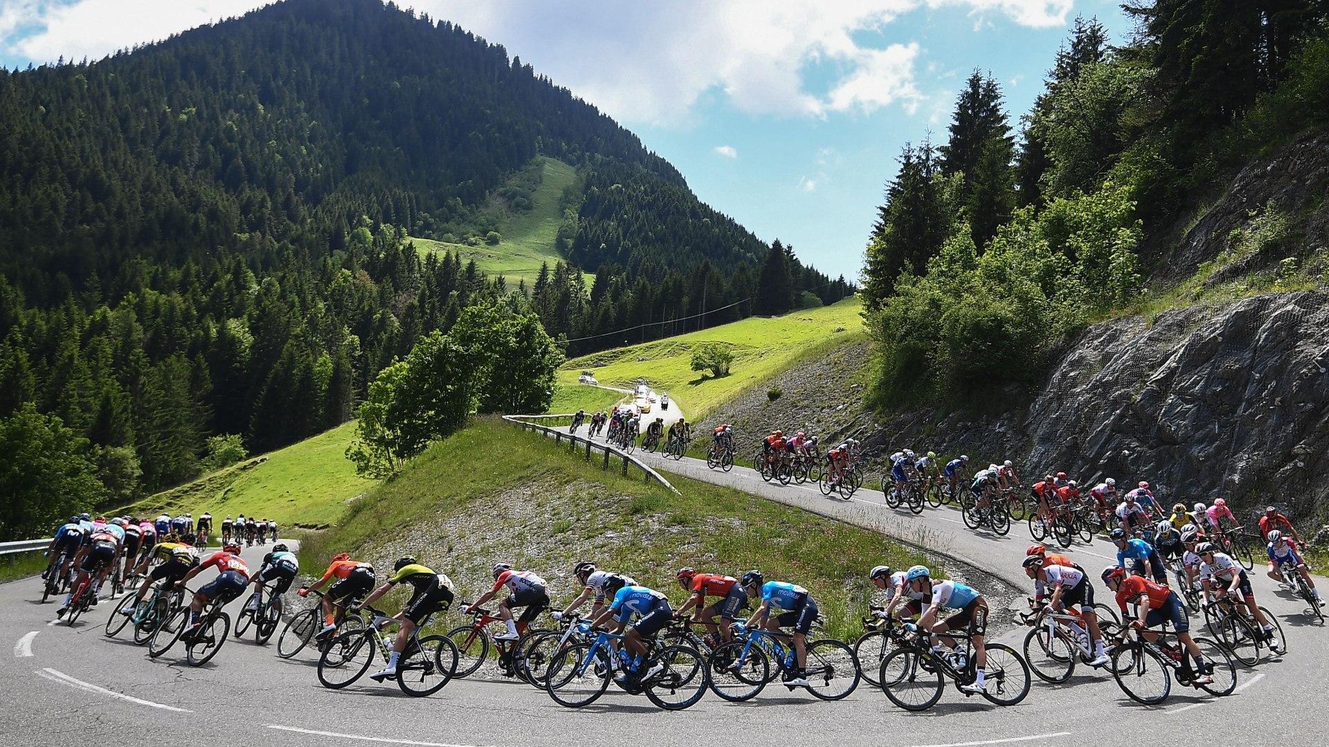 4a tappa, Firminy - Roche la Molie're (16,4 km, crono)
